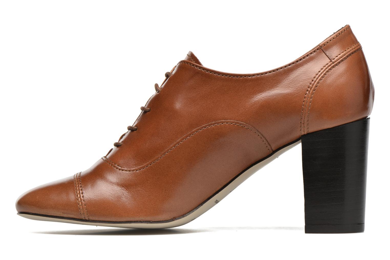 Chaussures à lacets Jonak Anna Marron vue face