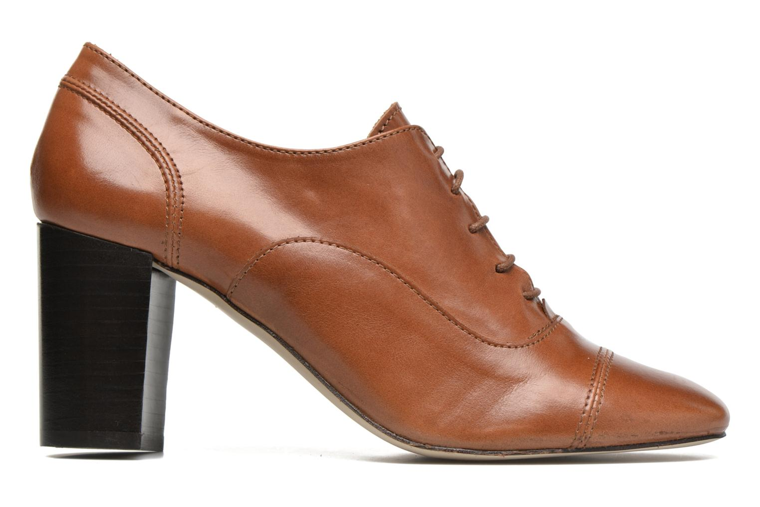 Lace-up shoes Jonak Anna Brown back view