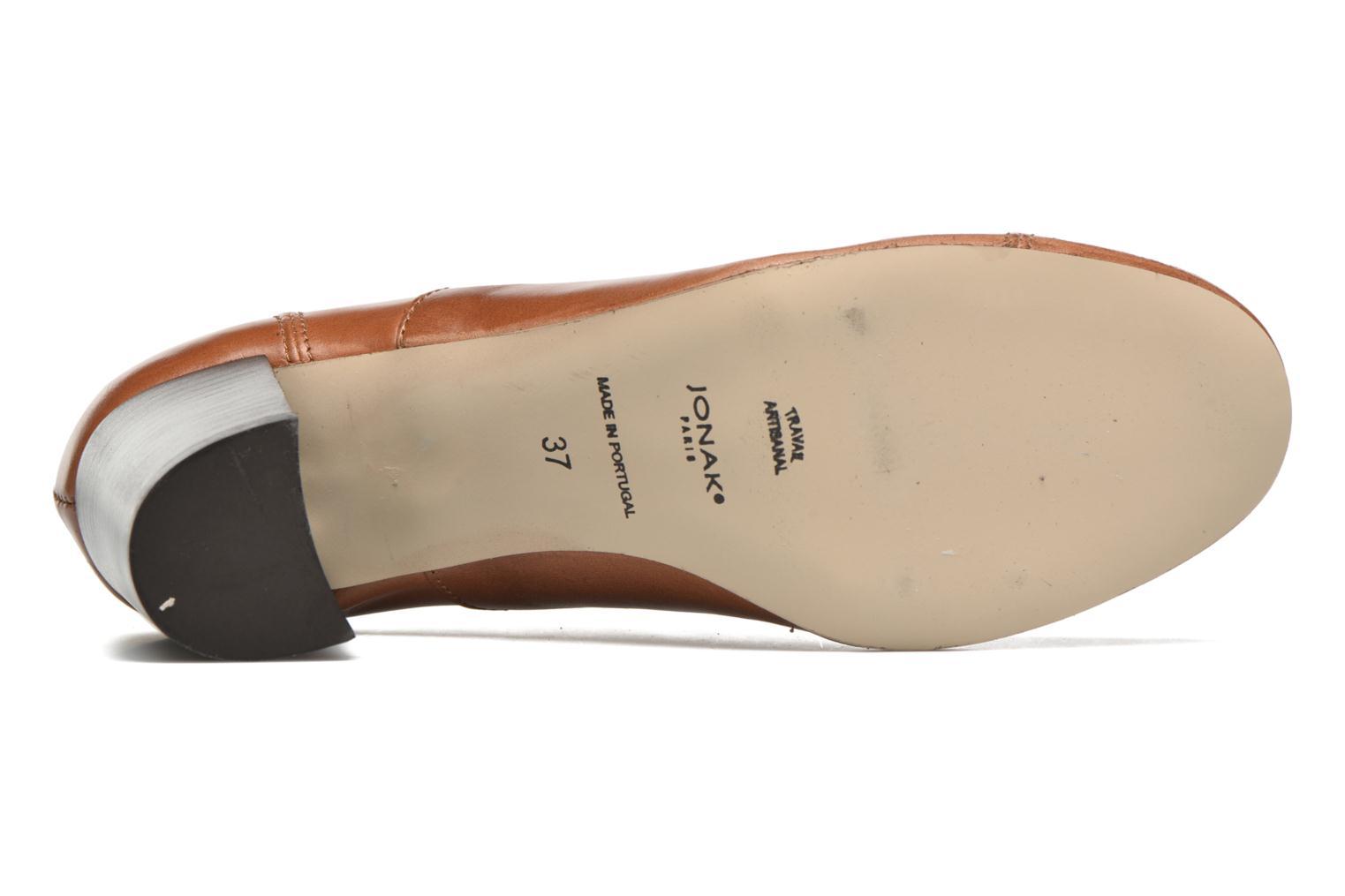 Chaussures à lacets Jonak Anna Marron vue haut