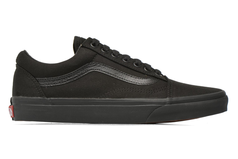 Sneaker Vans Old Skool schwarz ansicht von hinten