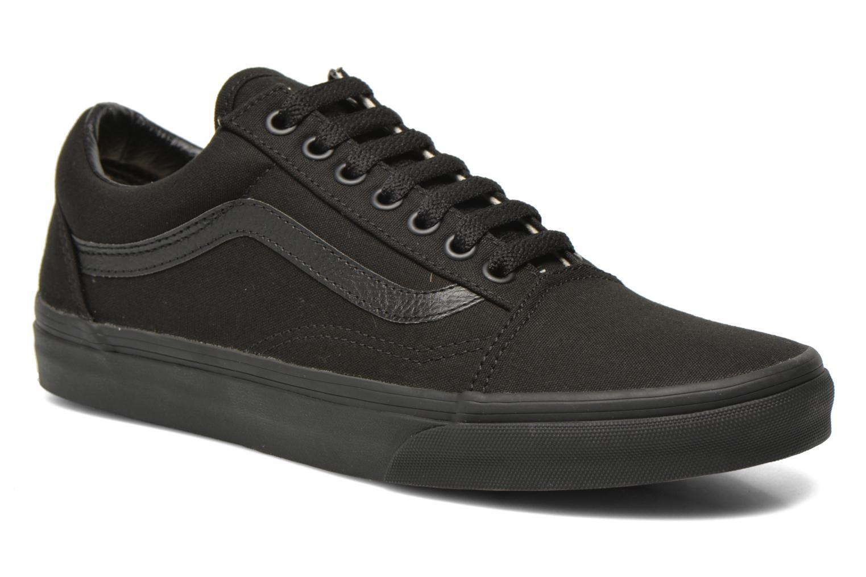 Sneakers Vans Old Skool Sort detaljeret billede af skoene