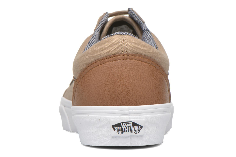 Baskets Vans Old Skool Beige vue droite