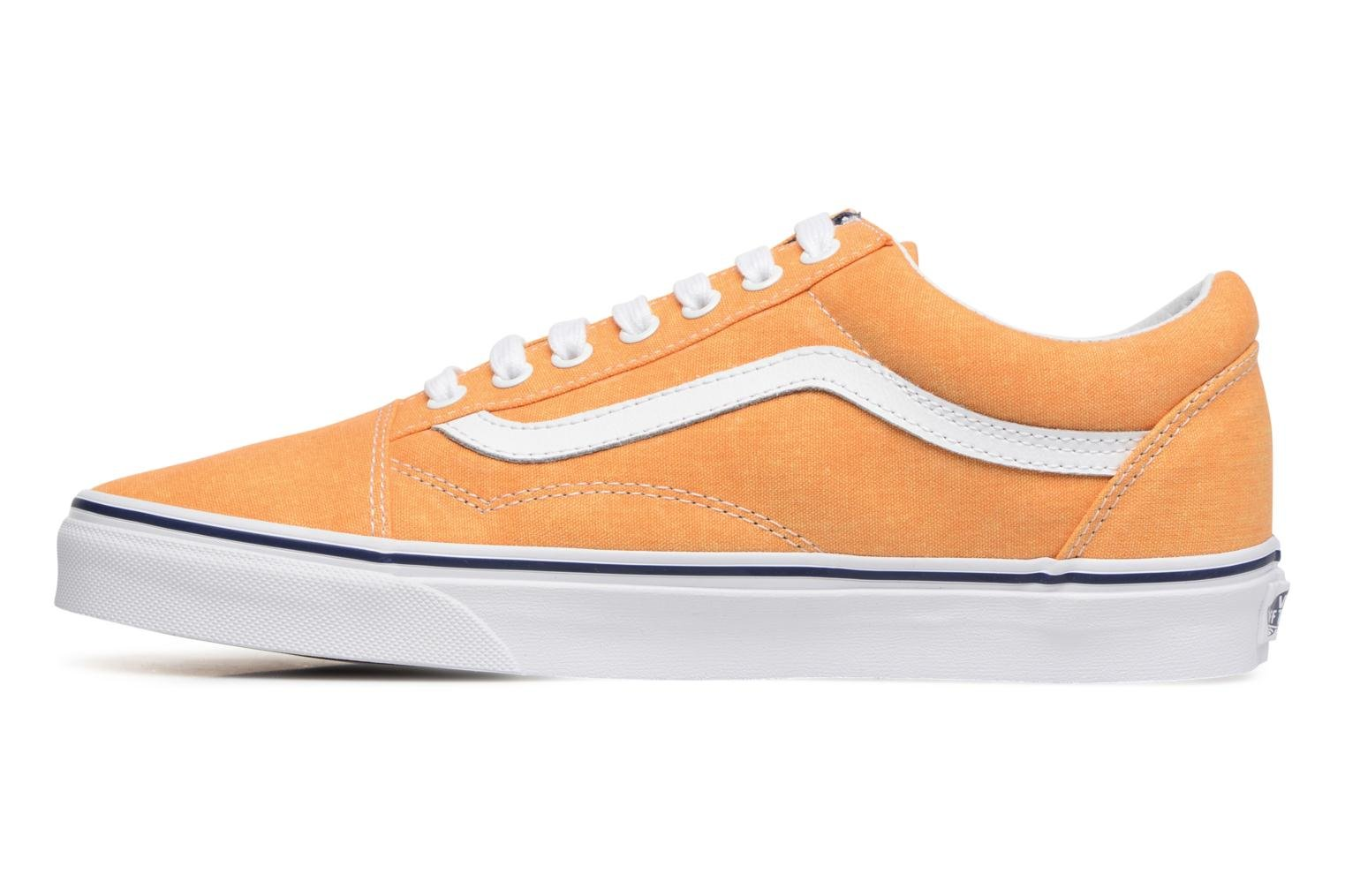 Old Skool (Washed Canvas) Citrus/Crown Blue