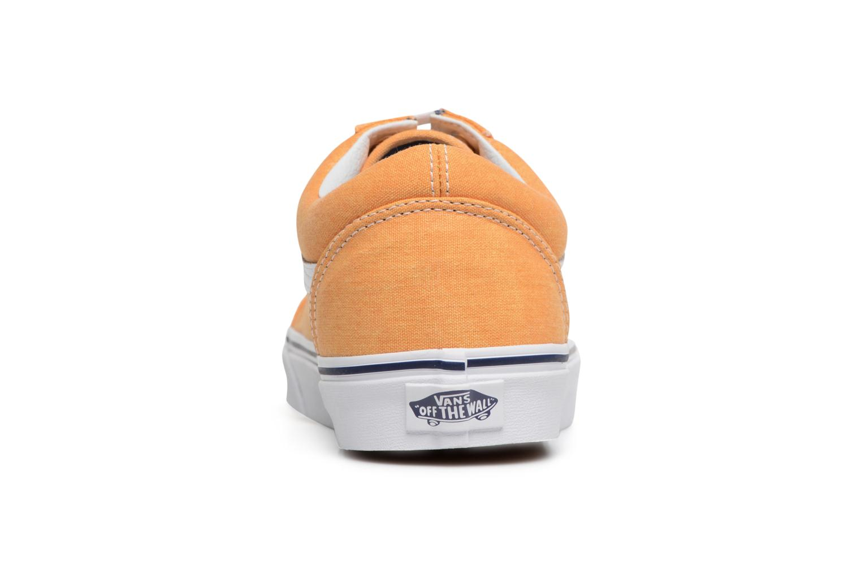Sneakers Vans Old Skool Geel rechts
