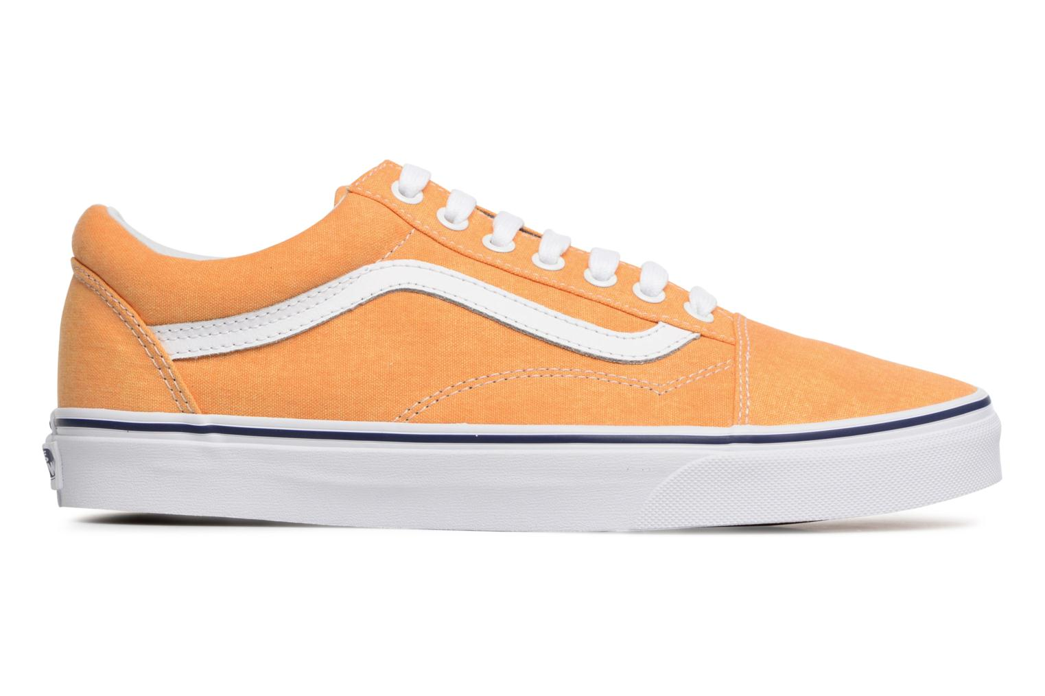 Trainers Vans Old Skool Yellow back view