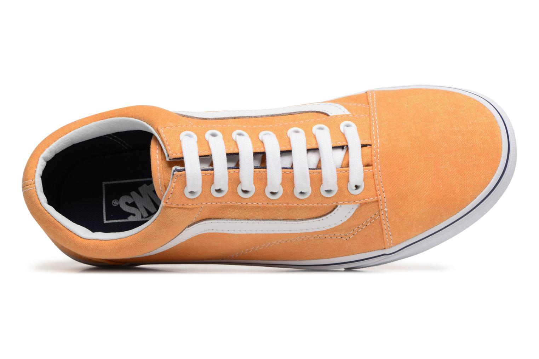 Sneaker Vans Old Skool gelb ansicht von links
