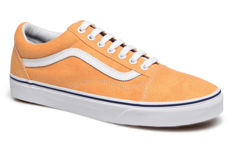 Sneakers Vans Old Skool Gul detaljeret billede af skoene