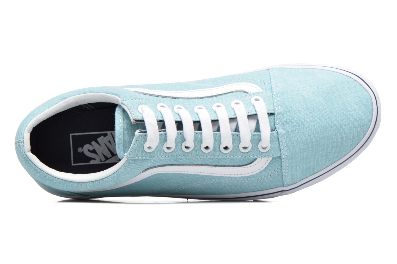 Sneaker Vans Old Skool blau ansicht von links