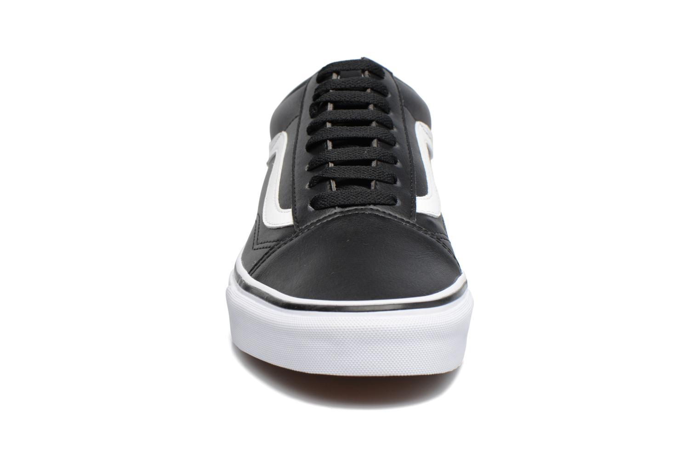 Sneaker Vans Old Skool schwarz schuhe getragen