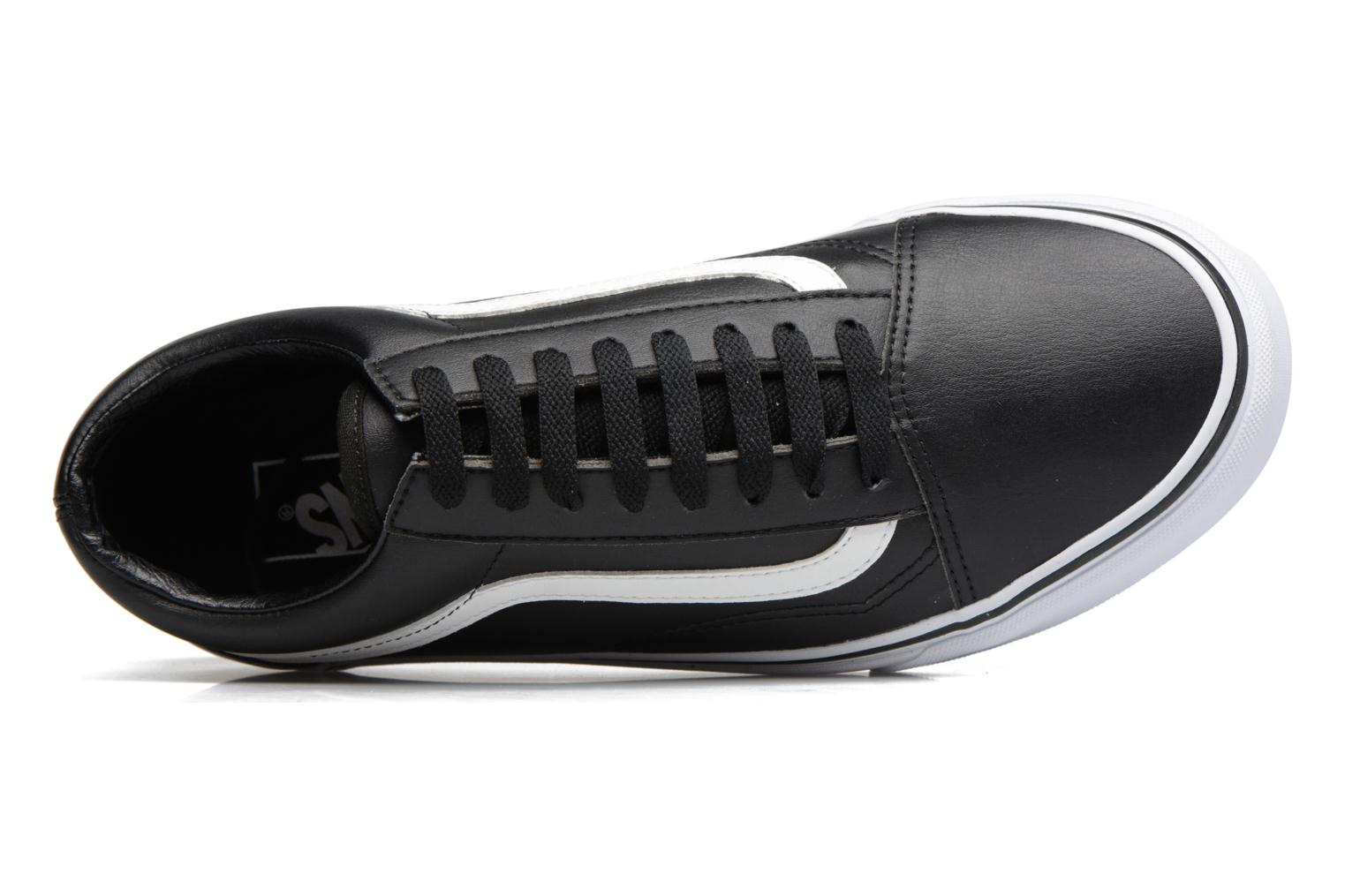 Trainers Vans Old Skool Black view from the left