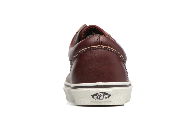 Sneakers Vans Old Skool Brun Bild från höger sidan