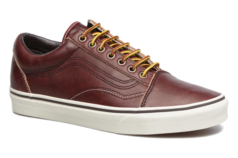 Sneakers Vans Old Skool Brun detaljeret billede af skoene