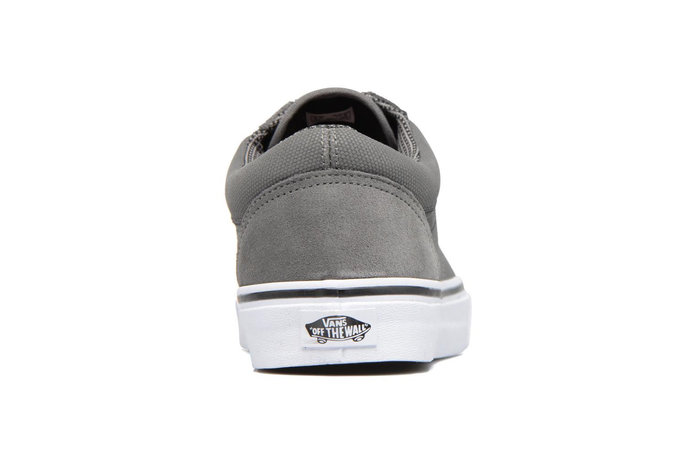 Sneaker Vans Old Skool grau ansicht von rechts