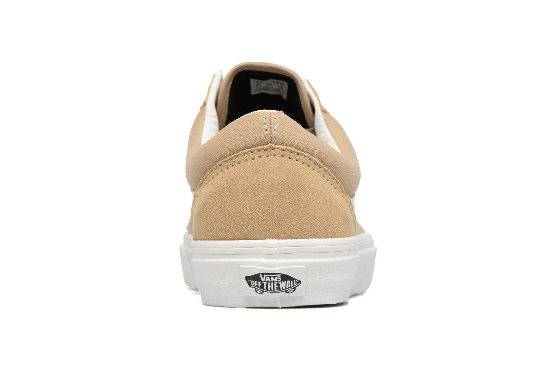Sneakers Vans Old Skool Beige Bild från höger sidan