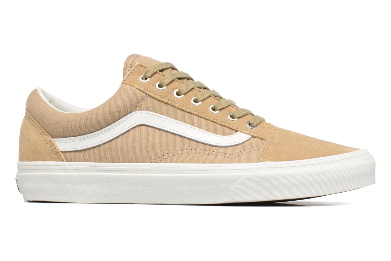 Sneaker Vans Old Skool beige ansicht von hinten