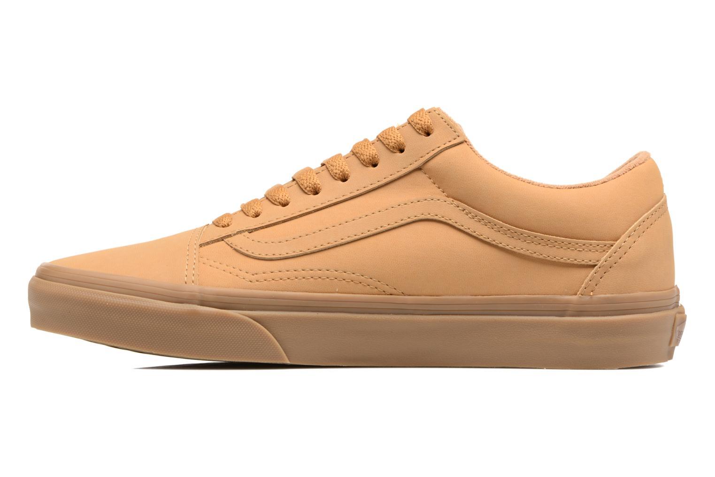 Sneakers Vans Old Skool Beige voorkant