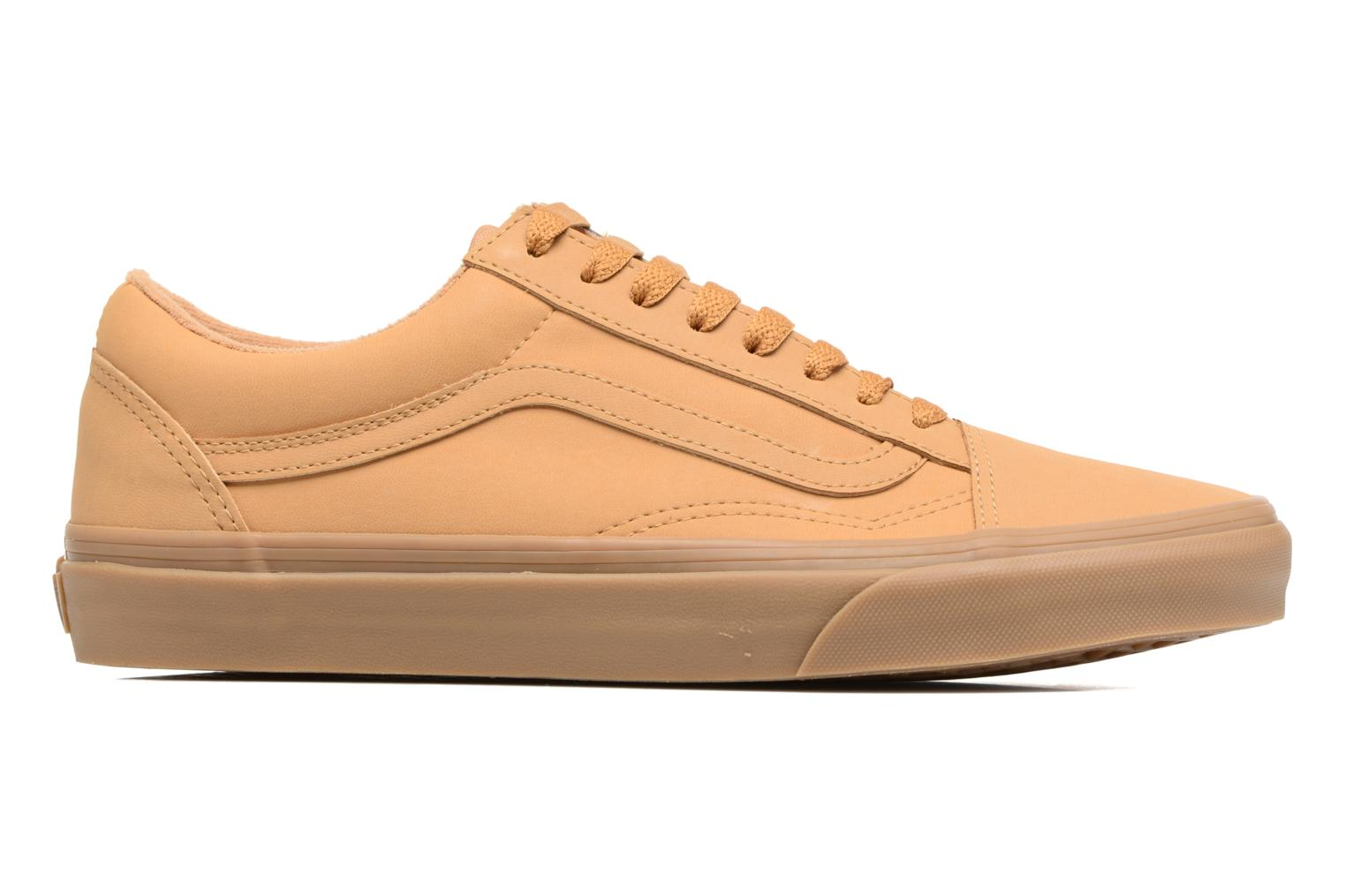 Trainers Vans Old Skool Beige back view