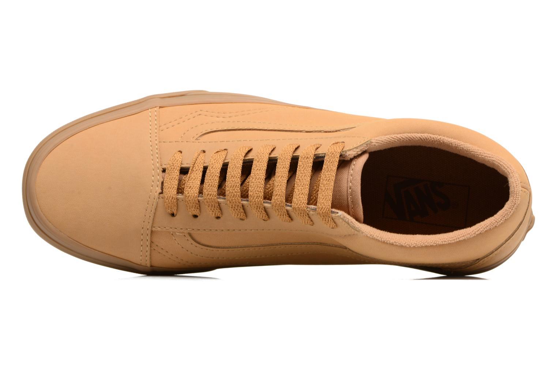 Sneaker Vans Old Skool beige ansicht von links