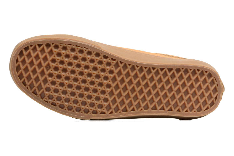Sneaker Vans Old Skool beige ansicht von oben