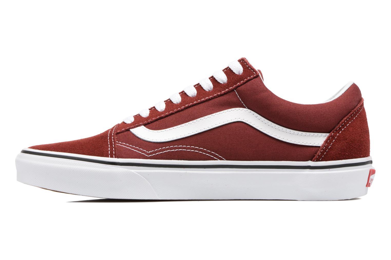 Sneakers Vans Old Skool Bordò immagine frontale