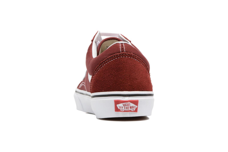 Sneakers Vans Old Skool Bordò immagine destra