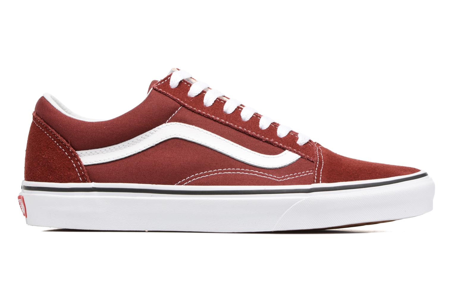 Old Skool Madder Brown/True White