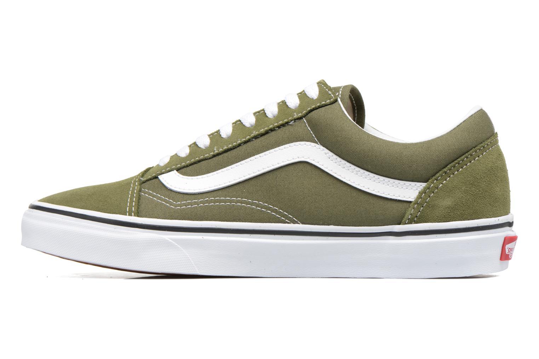 Sneaker Vans Old Skool grün ansicht von vorne