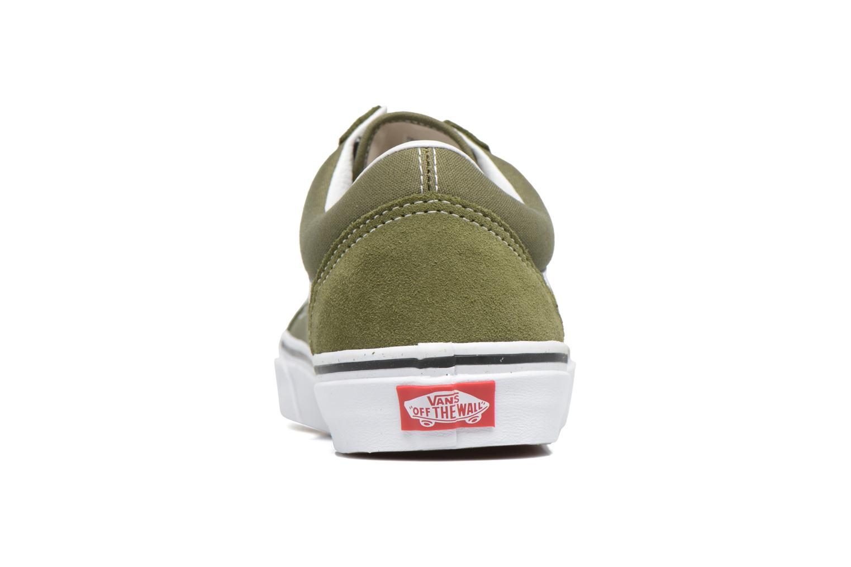 Sneakers Vans Old Skool Grön Bild från höger sidan