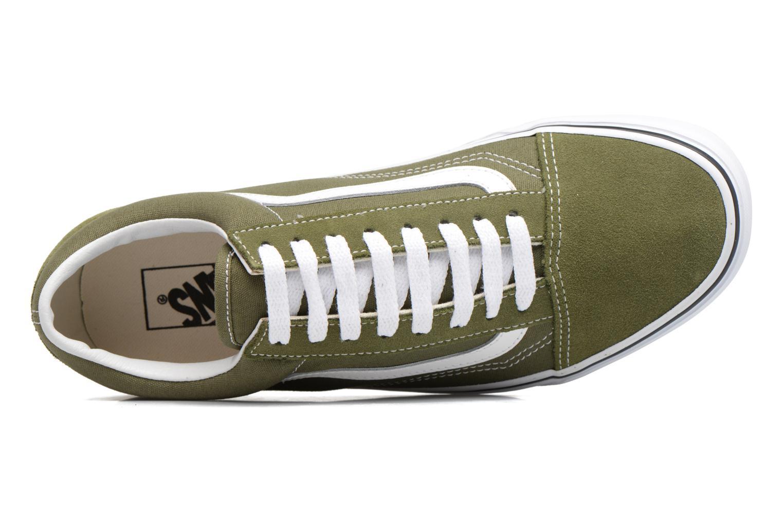 Sneaker Vans Old Skool grün ansicht von links