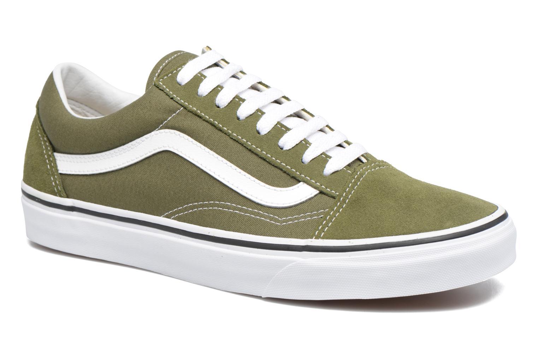 Sneakers Vans Old Skool Grön detaljerad bild på paret