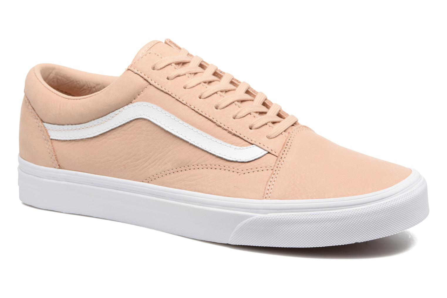 Old Skool (Leather) Toasted Almond/True White