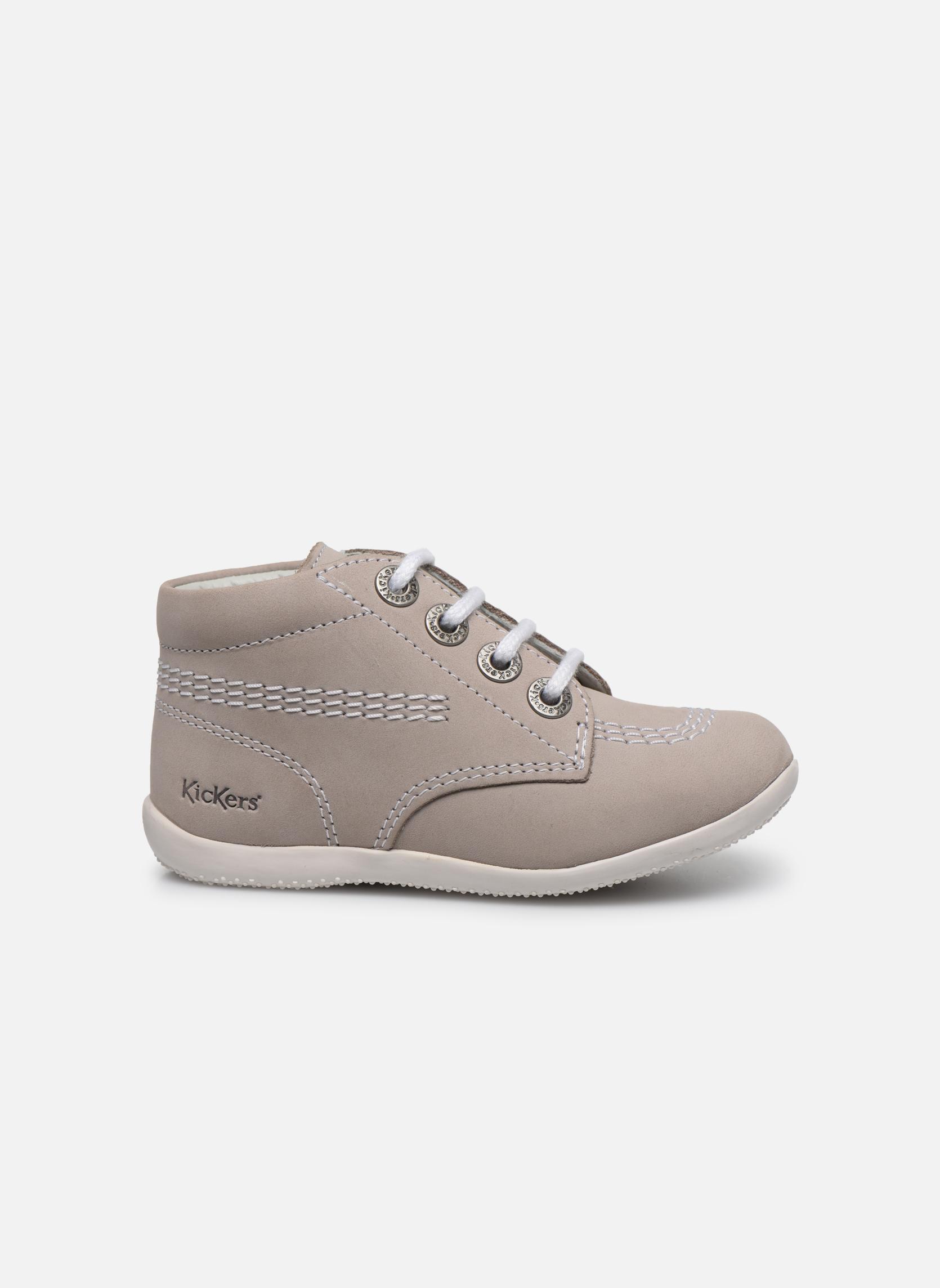 Chaussures à lacets Kickers Billy Gris vue derrière
