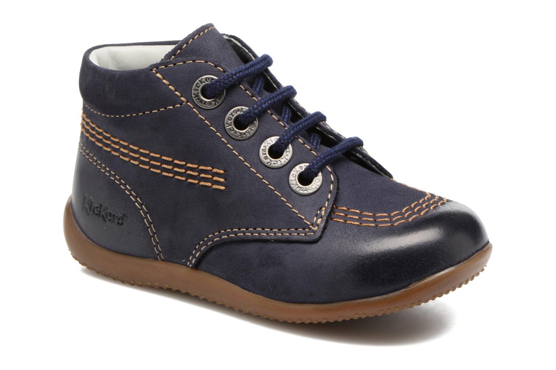 Chaussures à lacets Kickers Billy Noir vue détail/paire