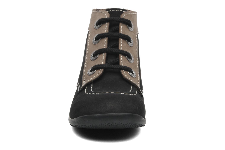 Stiefeletten & Boots Kickers Bonbon schwarz schuhe getragen