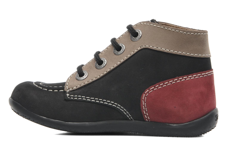 Stiefeletten & Boots Kickers Bonbon schwarz ansicht von vorne