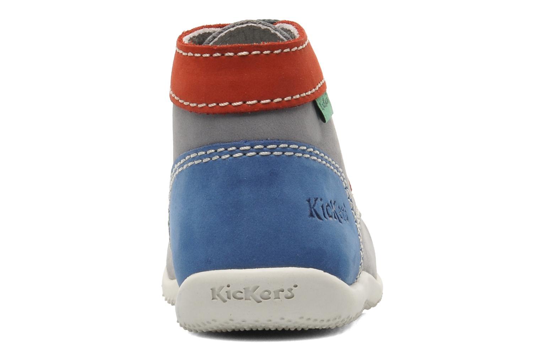 Stiefeletten & Boots Kickers Bonbon grau ansicht von rechts