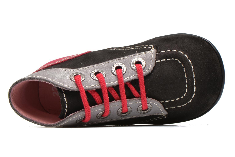 Bottines et boots Kickers Bonbon Noir vue gauche