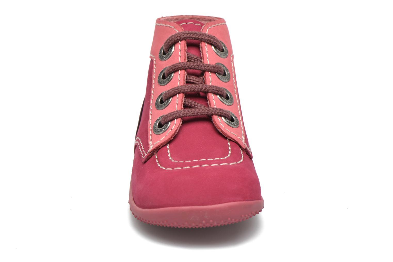 Bottines et boots Kickers Bonbon Rose vue portées chaussures