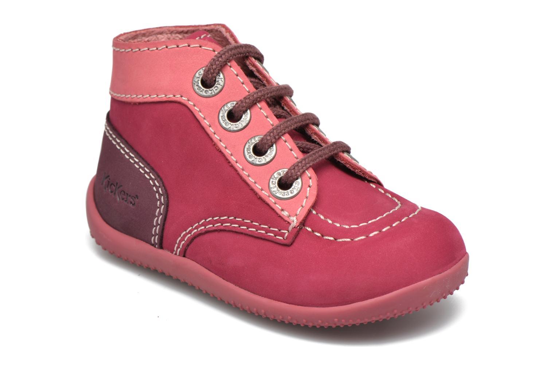Boots en enkellaarsjes Kickers Bonbon Roze detail