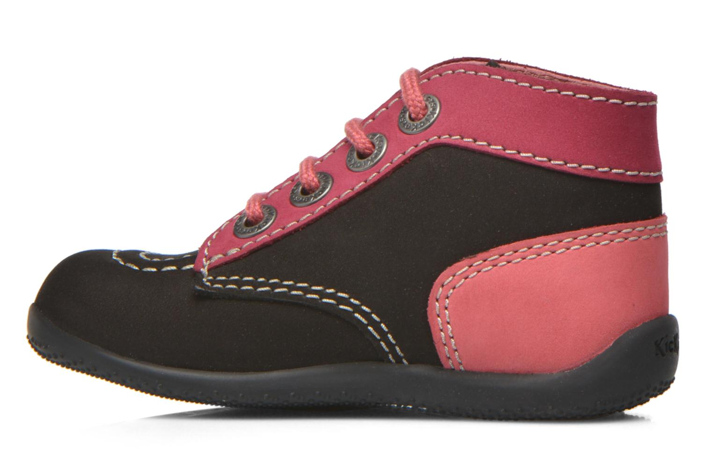 Bottines et boots Kickers Bonbon Noir vue face