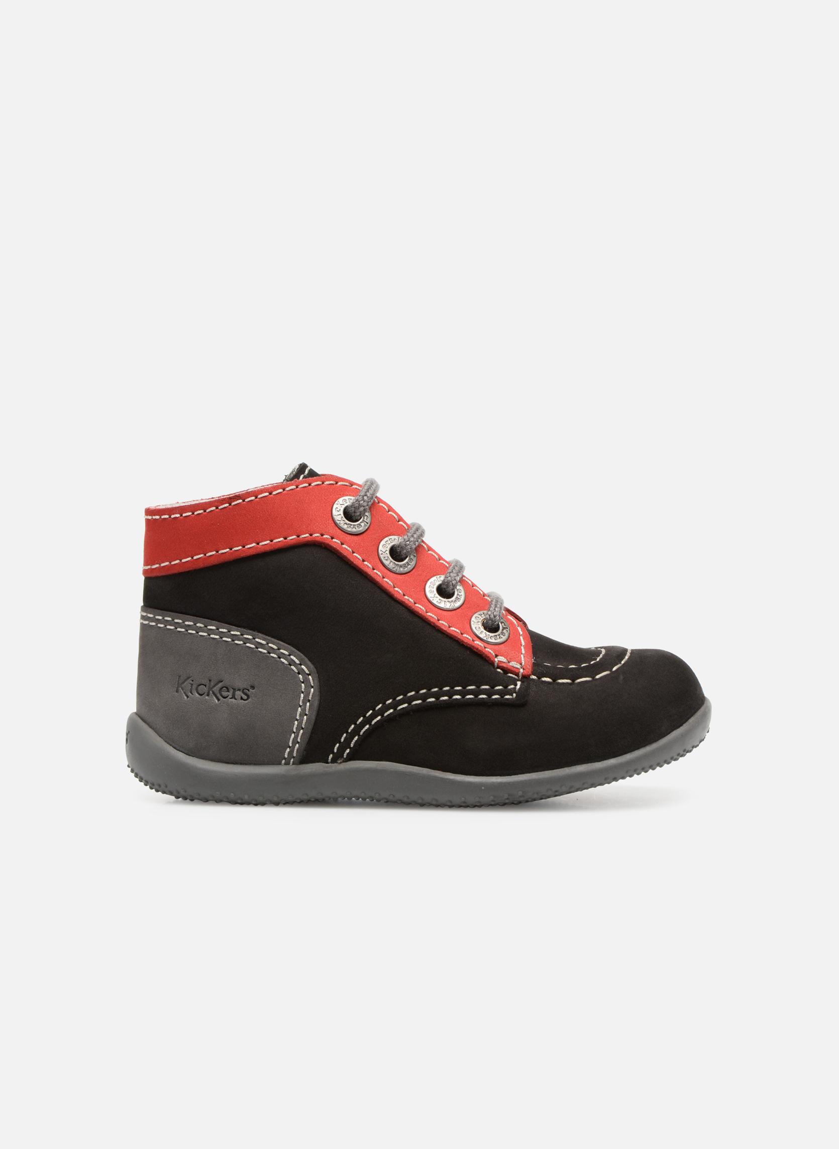 Boots Kickers Bonbon Svart bild från baksidan