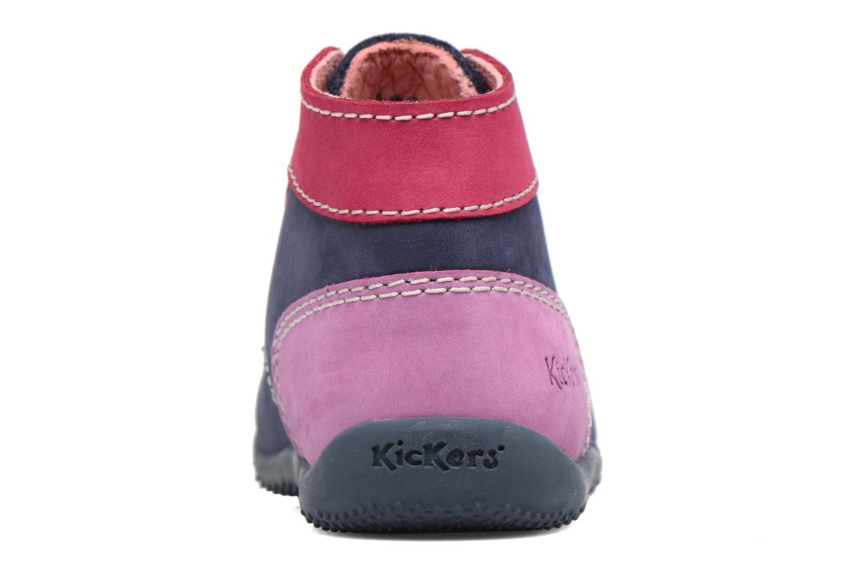 Boots Kickers Bonbon Blå Bild från höger sidan