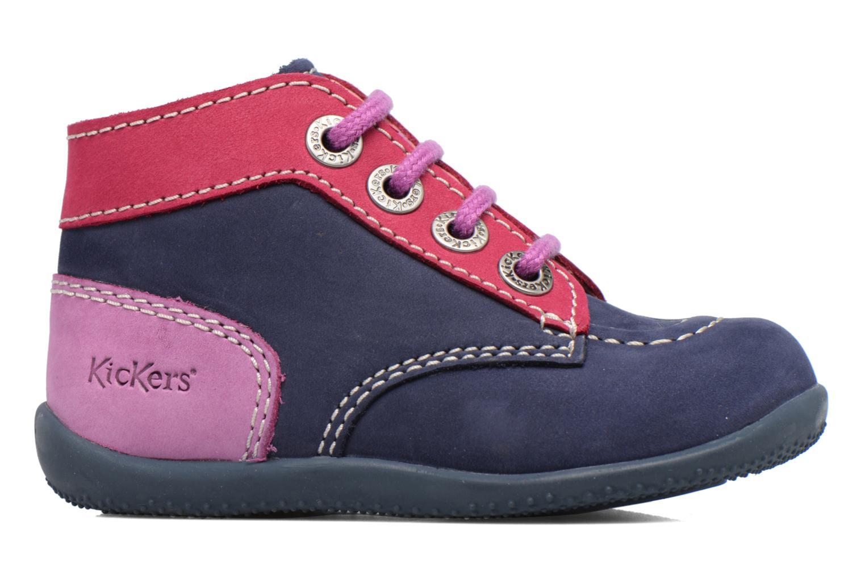 Stiefeletten & Boots Kickers Bonbon blau ansicht von hinten