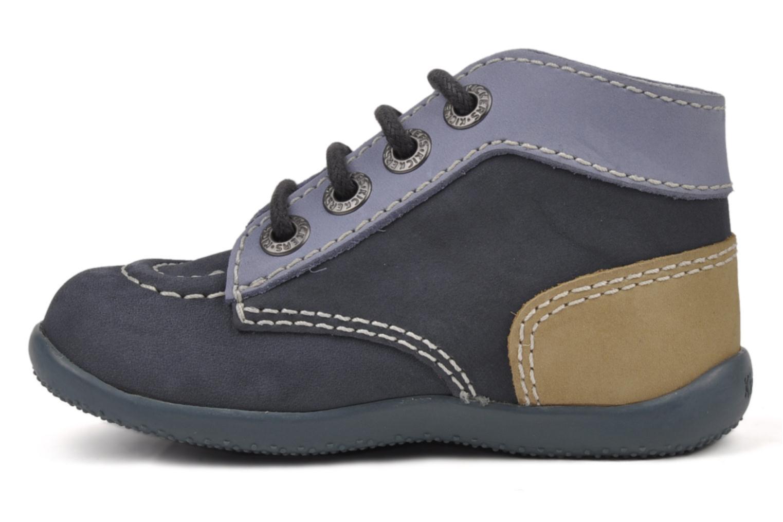 Stiefeletten & Boots Kickers Bonbon blau ansicht von vorne