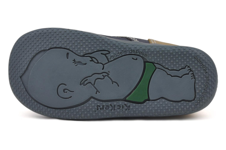 Stiefeletten & Boots Kickers Bonbon blau ansicht von oben