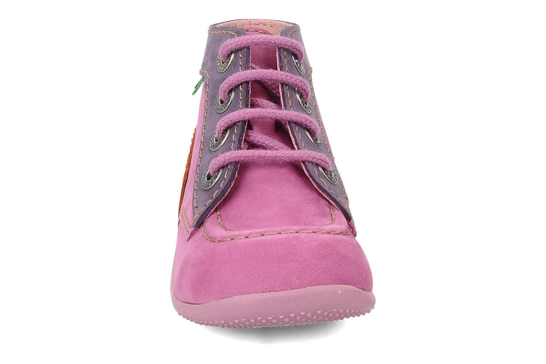 Stiefeletten & Boots Kickers Bonbon lila schuhe getragen