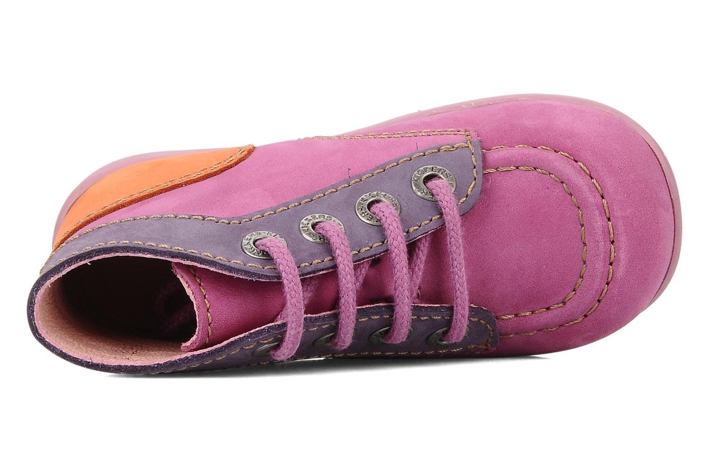Stiefeletten & Boots Kickers Bonbon lila ansicht von links