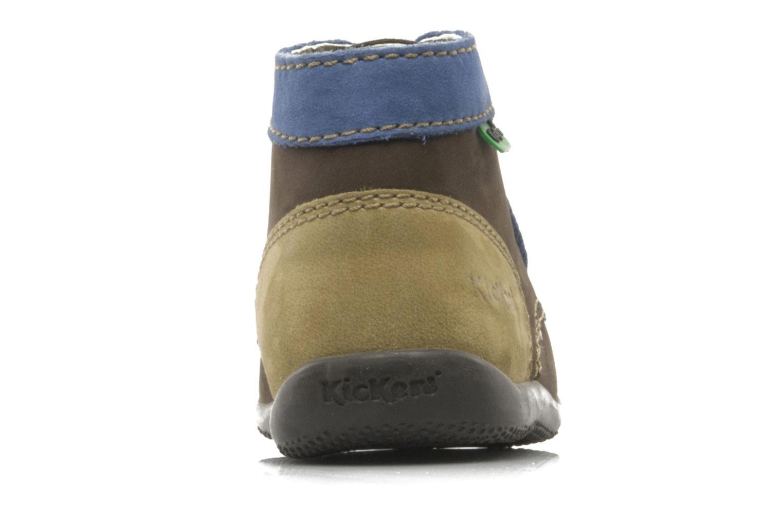 Boots Kickers Bonbon Brun Bild från höger sidan