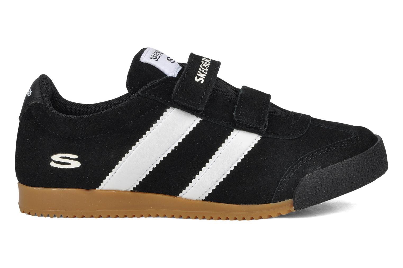 Sneakers Skechers Commemorate Zwart achterkant