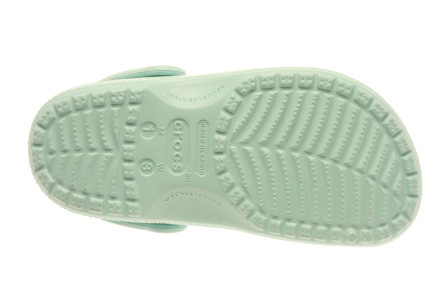 Sandals Crocs Kids Cayman Blue view from above